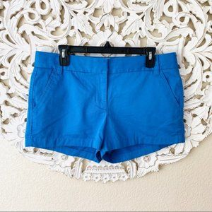 {J. Crew} Blue Broken-In Chino Shorts